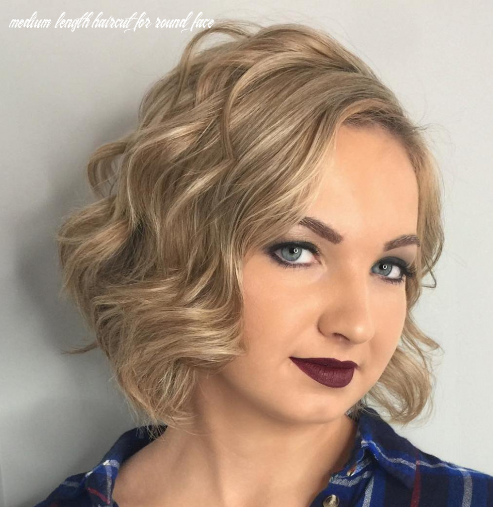 10 amazing haircuts for round faces hair adviser medium length haircut for round face
