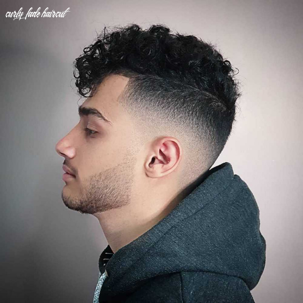 10 Curly Fade Haircut - Undercut Hairstyle