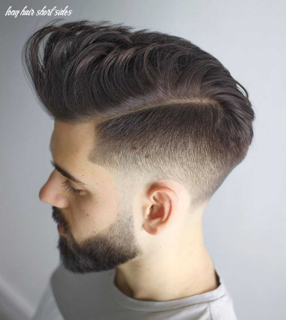 10 awesome examples of short sides, long top haircuts for men