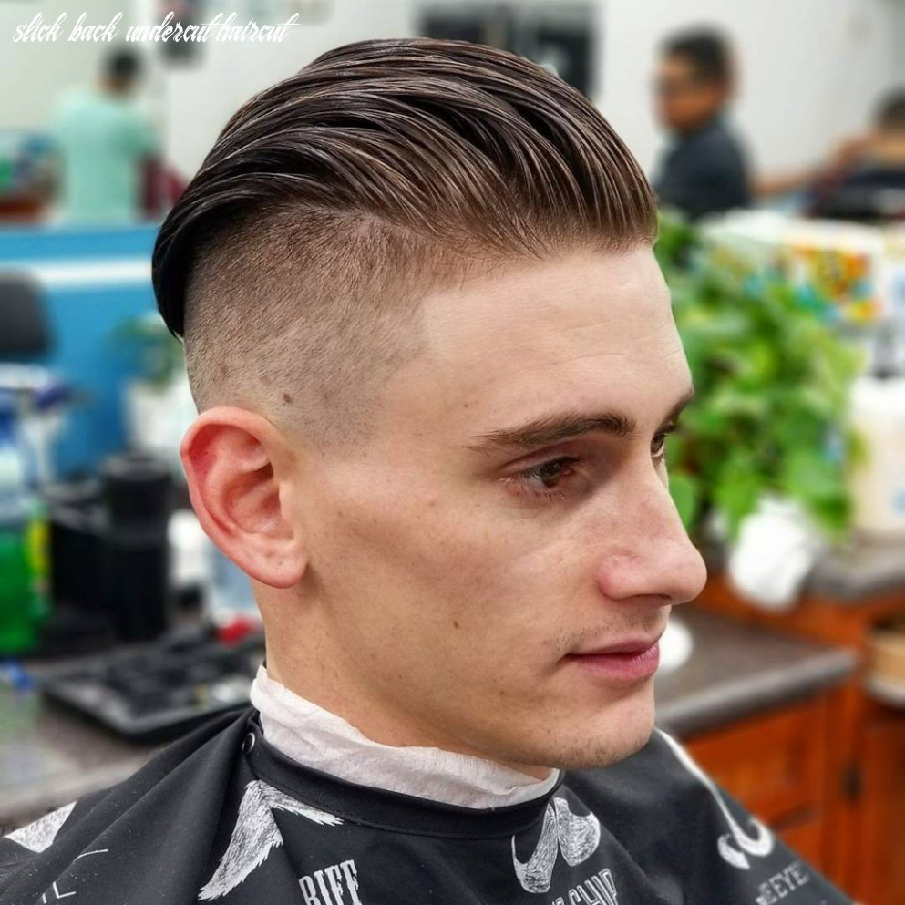 10 Awesome Slick Back Haircuts for Men | Mens Undercut Hairstyle ...
