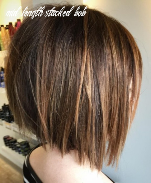 10 best bob hairstyles for 10 – cute medium bob haircuts for women mid length stacked bob