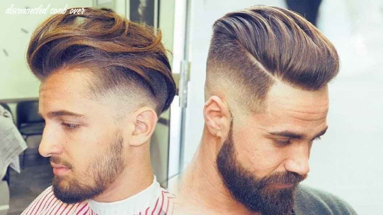 10 best disconnected undercut hairstyles trend in 10 disconnected comb over