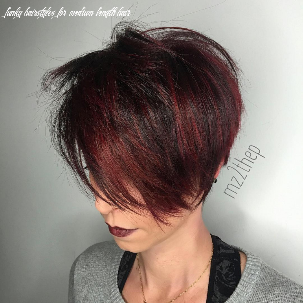 10 best edgy haircuts ideas to upgrade your usual styles funky hairstyles for medium length hair