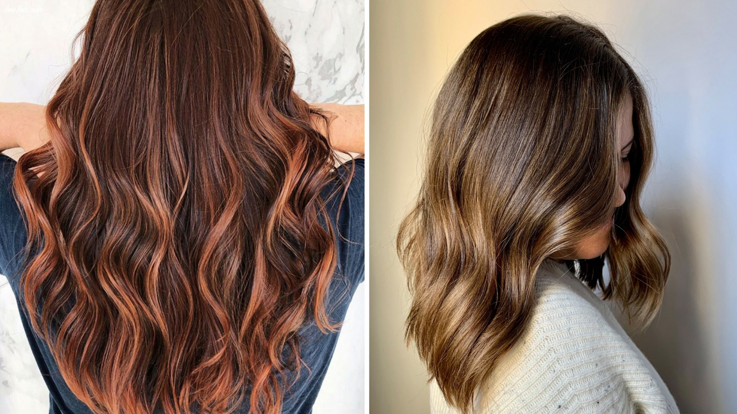 10 best hair color trends and ideas for 1010 | glamour long hair color