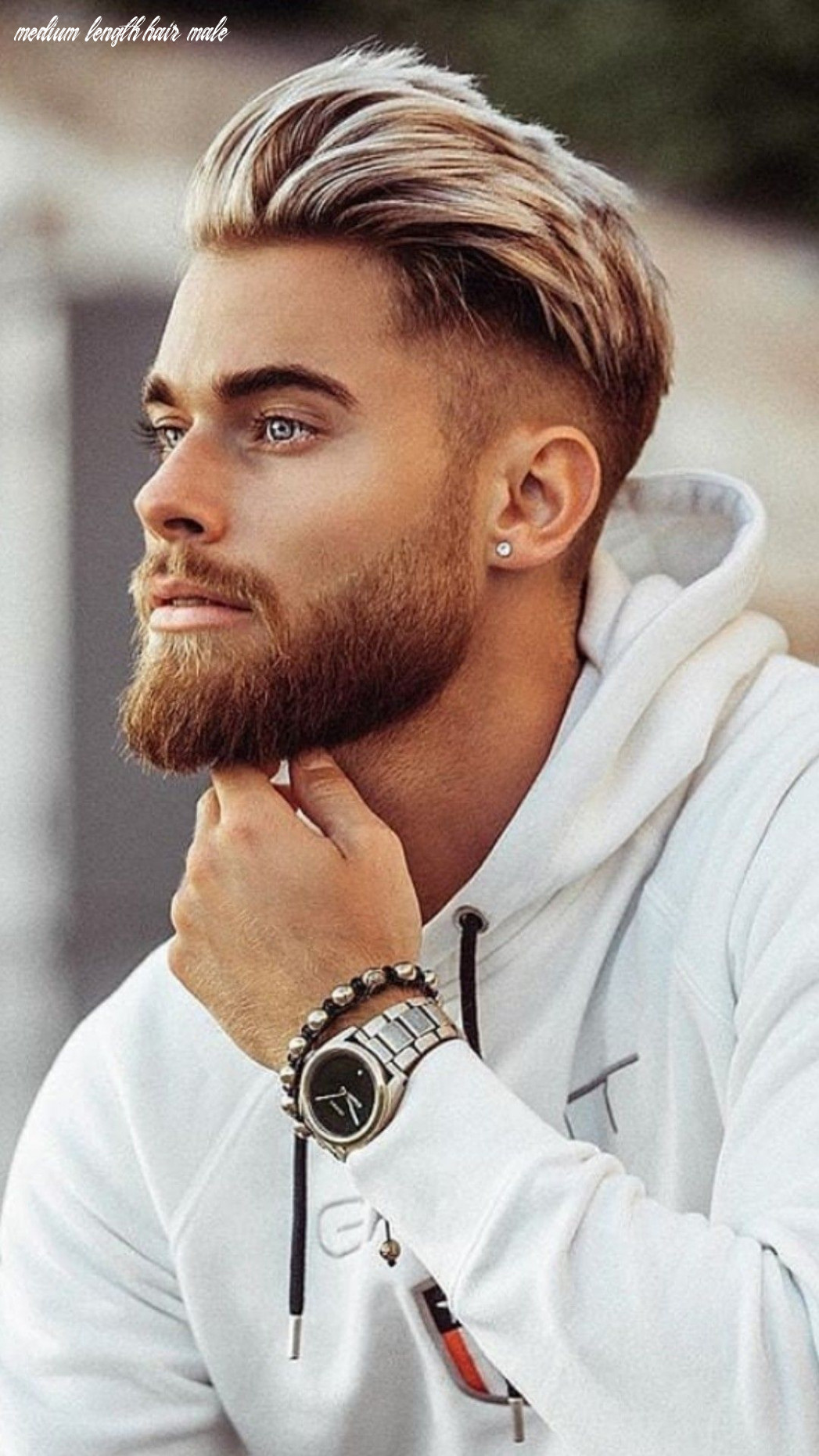 10 best medium length hairstyles men you must try in 1018 gallery