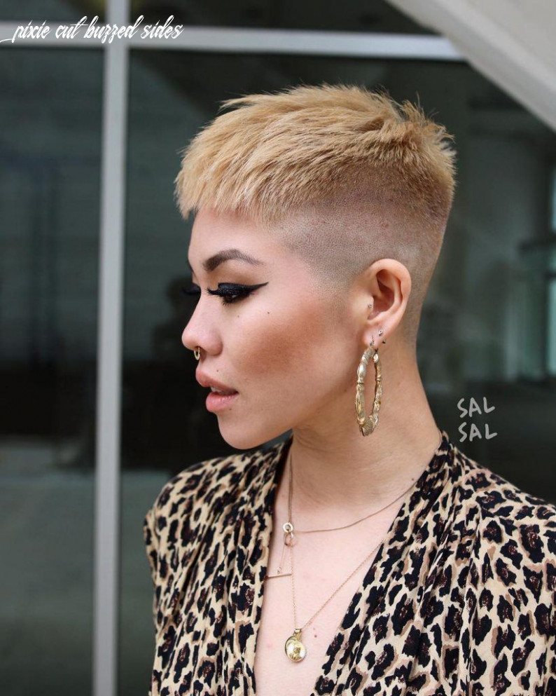 10 best pixie cut hairstyles for 10 you will want to see pixie cut buzzed sides