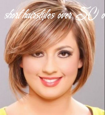10+ Best Short Hairstyles for Overweight Over 10 10 - Latest ...