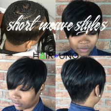 10 best short weave styles images in 10 | short hair styles