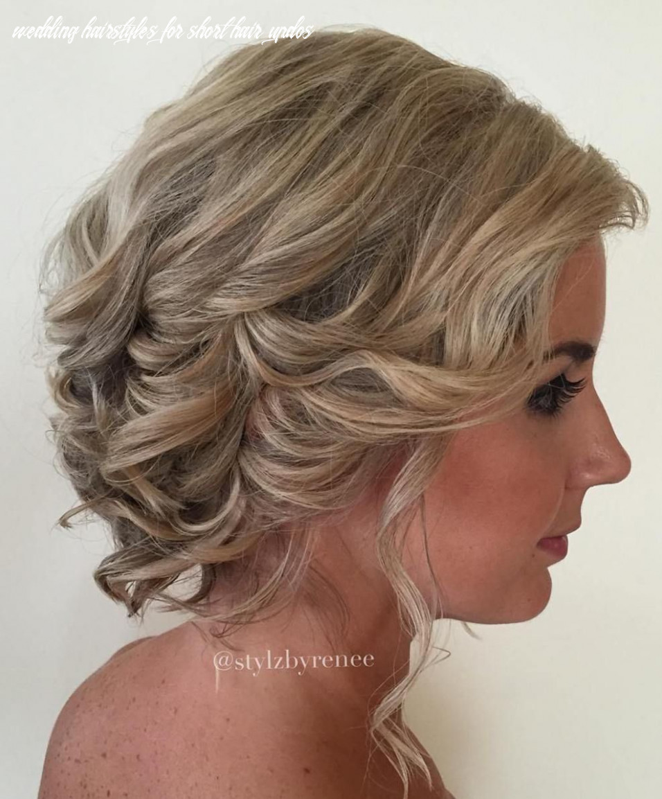 """10 best short wedding hairstyles that make you say """"wow!"""" 