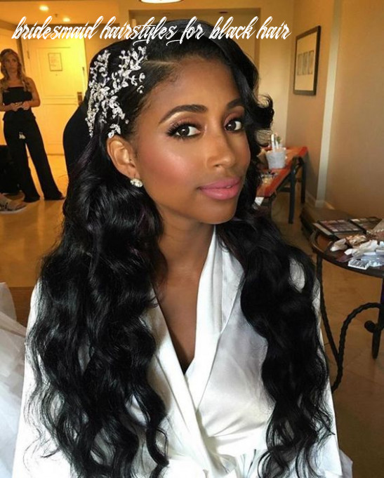 10 Black Wedding Hairstyles For Black Women | Black wedding ...