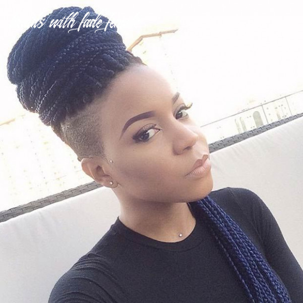 10 box braids hairstyles that turn heads | braids with shaved