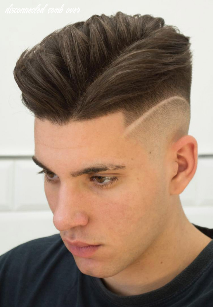 10 brilliant disconnected undercut examples how to guide disconnected comb over
