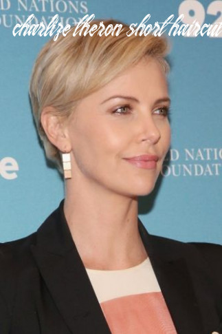 10 Charlize Theron Short Hairstyles (Pixie, Bob Haircut & Blonde ...