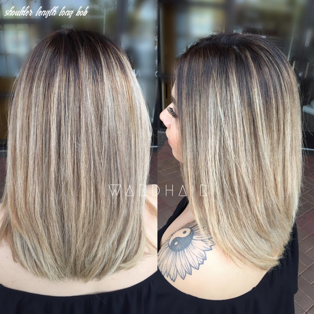 10 chic everyday hairstyles for shoulder length hair 10 shoulder length long bob