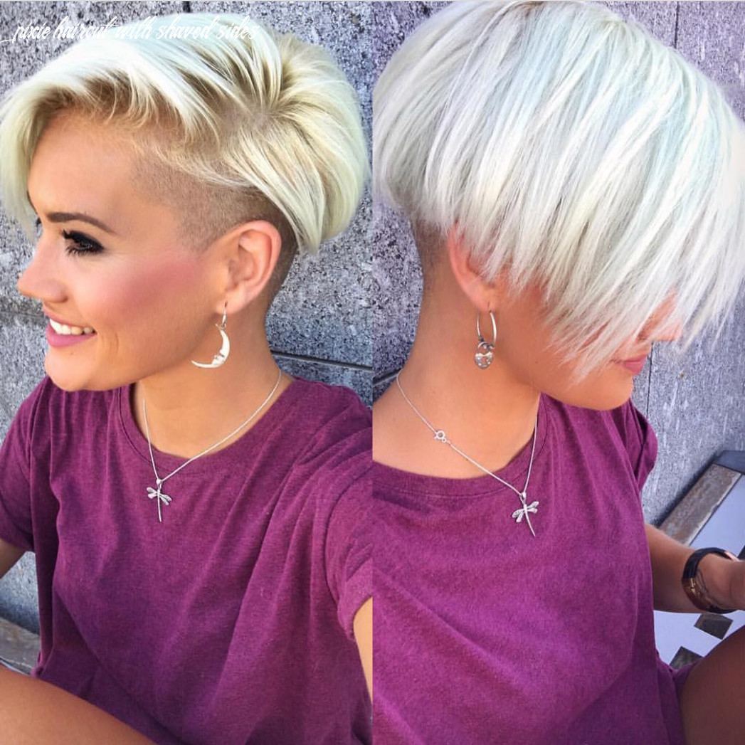 10 Chic Shaved Haircuts for Short Hair 10