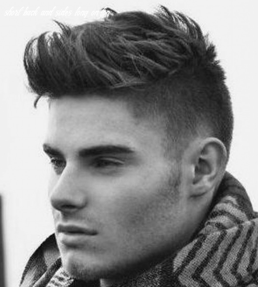 10 Short Back And Sides Long On Top Undercut Hairstyle