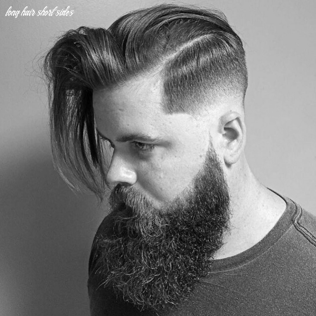 10 creative short on sides long on top haircuts [10 ideas] long hair short sides