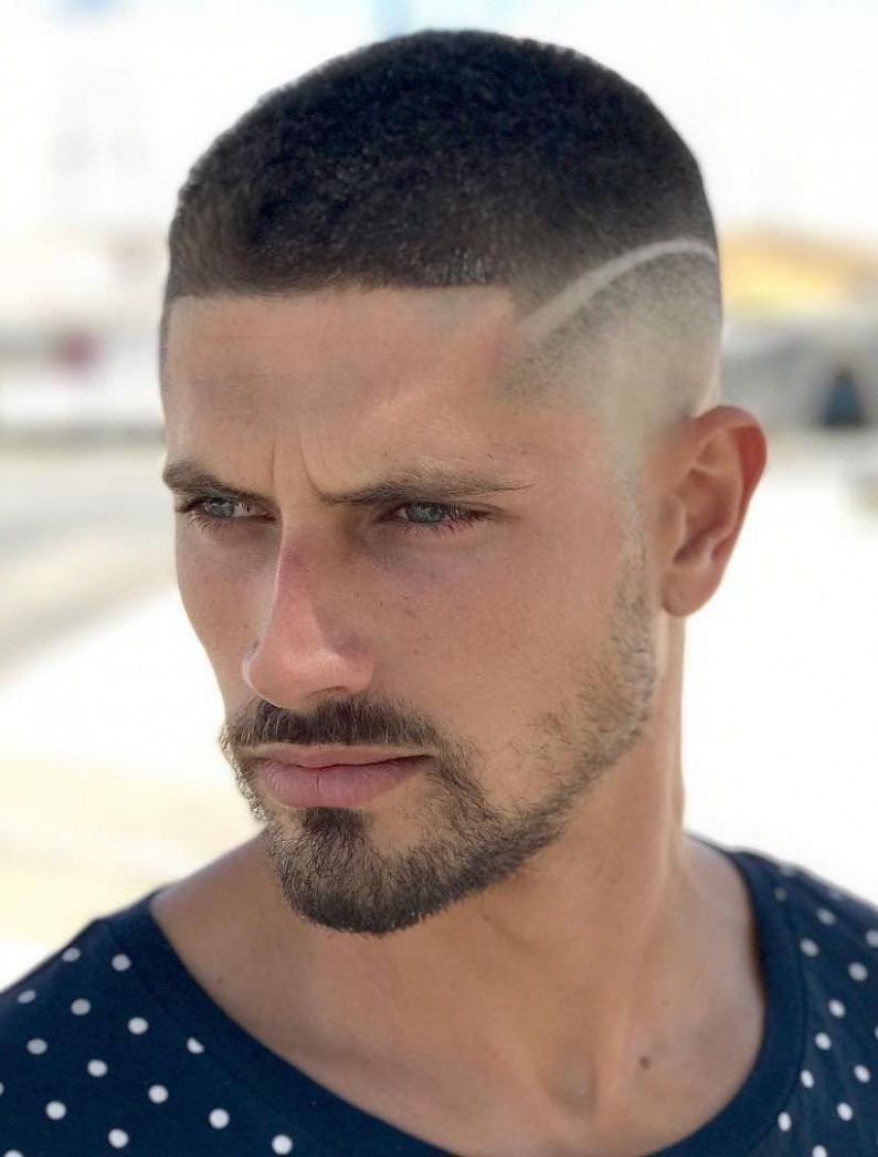 10 crew cut examples: a great choice for modern men disconnected buzz cut