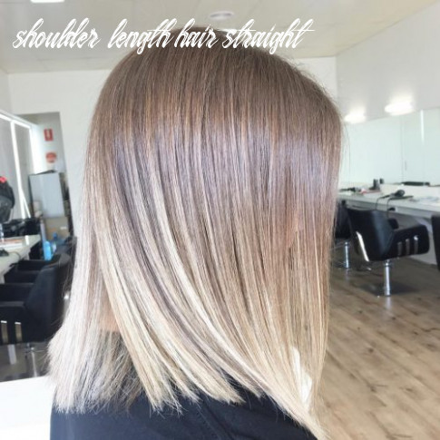 10 cute & easy hairstyles for shoulder length hair shoulder length hair straight