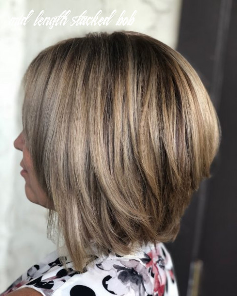 10 cute stacked bob haircuts trending in 10 mid length stacked bob