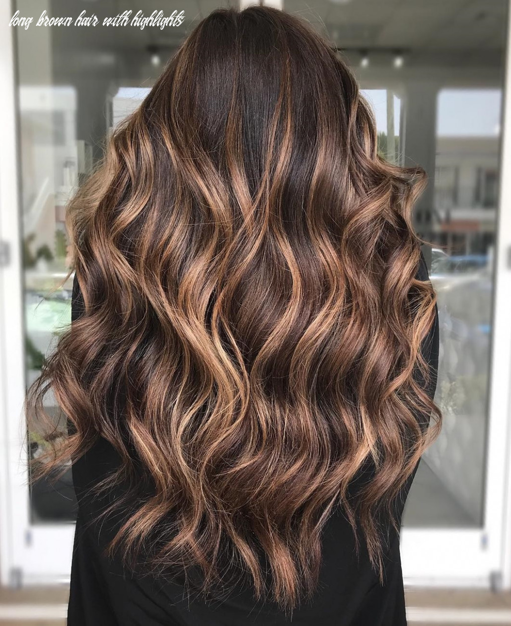10 dark brown hair with highlights ideas for 10 hair adviser long brown hair with highlights