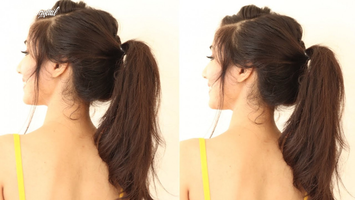 10 Different Ponytail Hairstyles For Black Hair   ponytail Hairstyles For  Short Hair or Medium hair