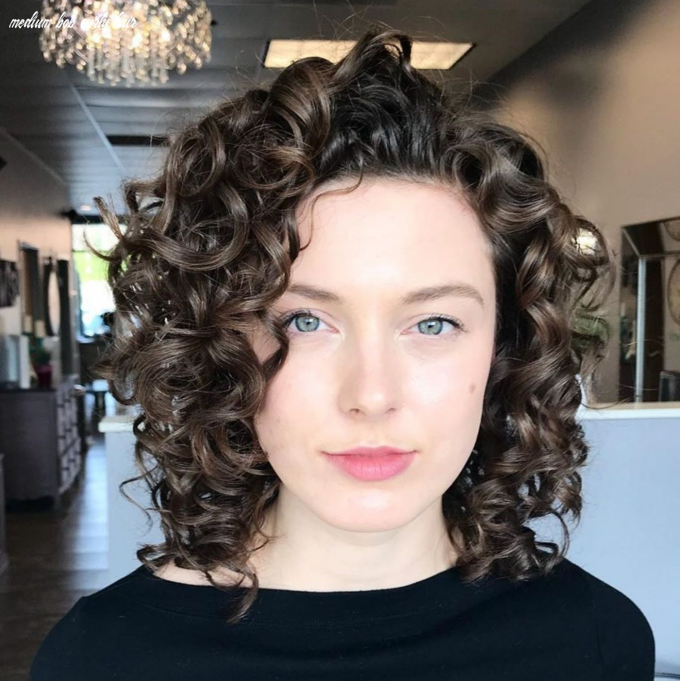 10 different versions of curly bob hairstyle | lockige frisuren