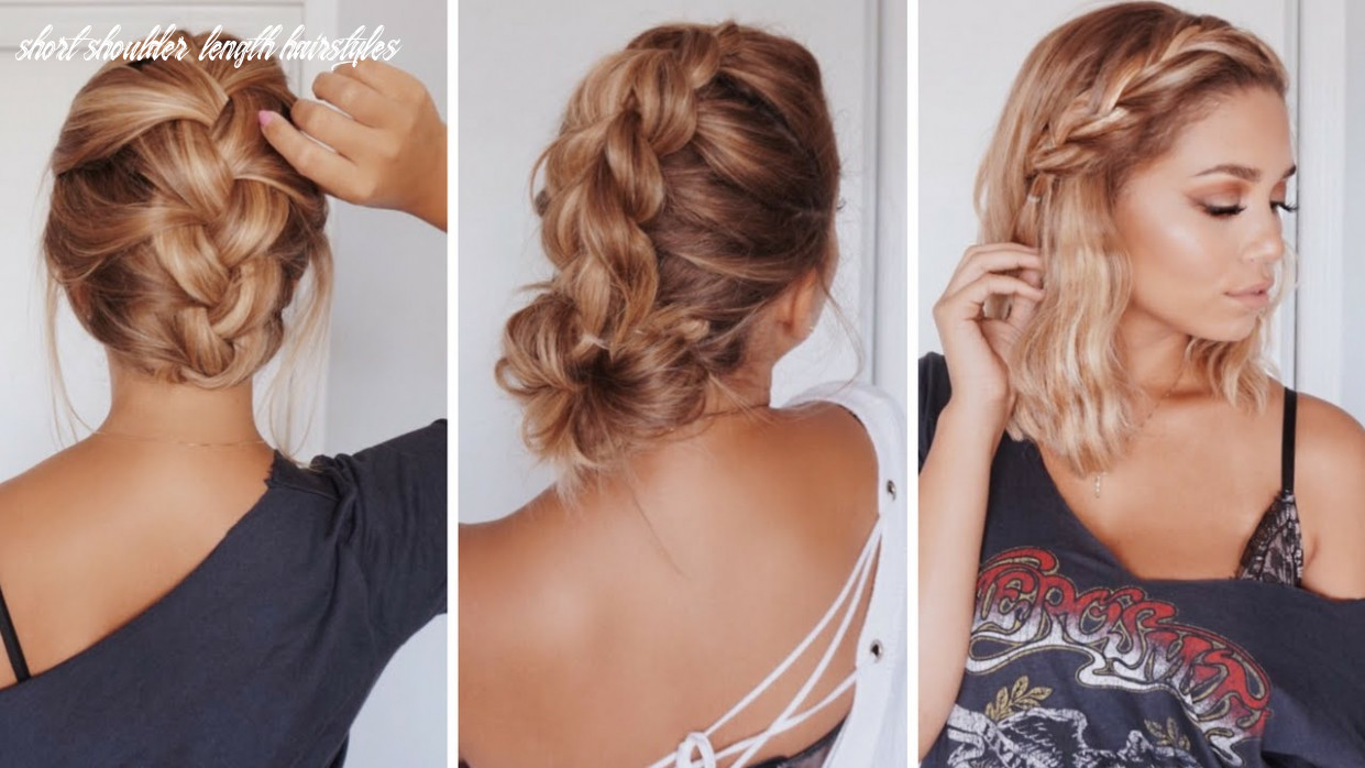 10 Easy Hairstyles for Short/Medium Length Hair | Ashley Bloomfield