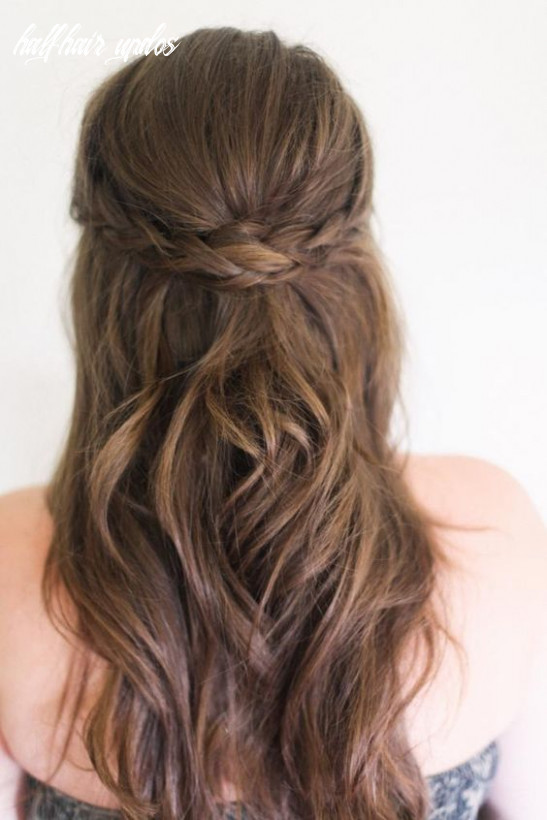 10+ Easy Half-Up Hairstyles That'll Only Take Minutes To Achieve ...