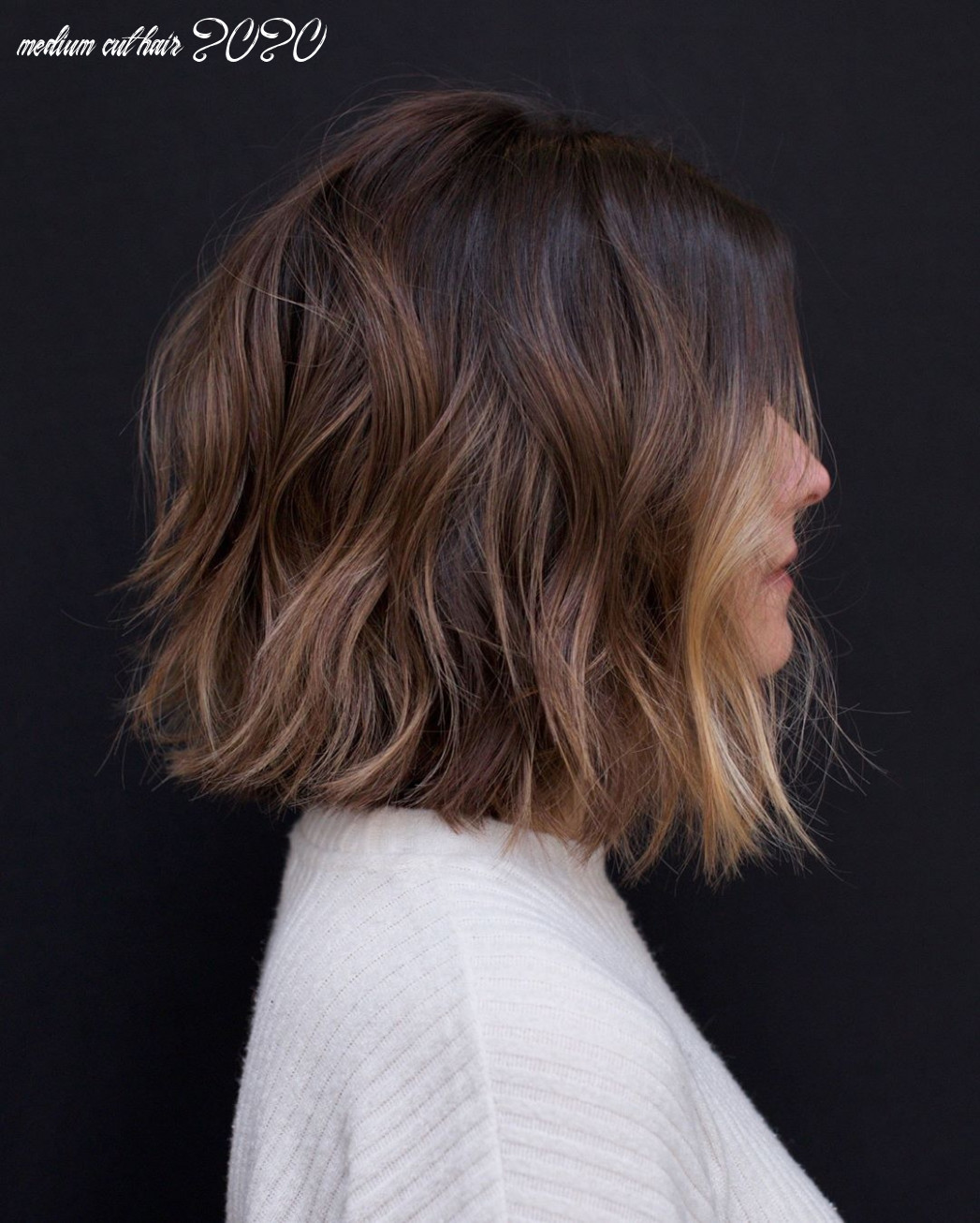 10 Easy Wavy Bob Hairstyles with Balayage - 10 Female Short ...