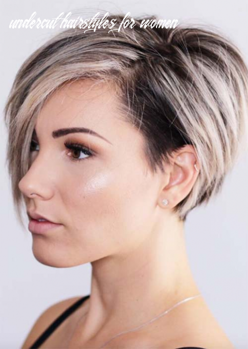 10 edgy and rad short undercut hairstyles for women   short hair