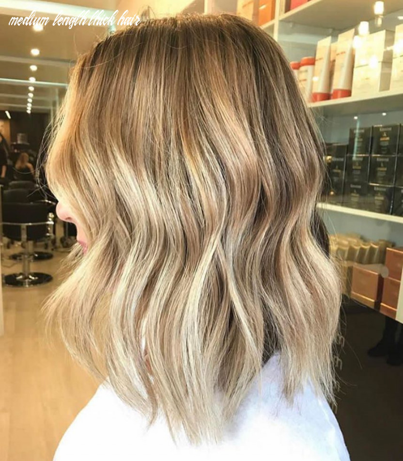 10 everyday medium hairstyles for thick hair 10: easy trendy