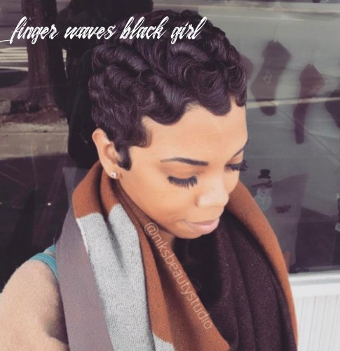 10 finger wave hairstyles you will want to copy finger waves black girl