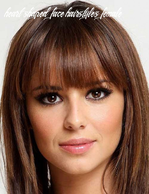 10 flattering hairstyles for heart shaped face you should try out heart shaped face hairstyles female