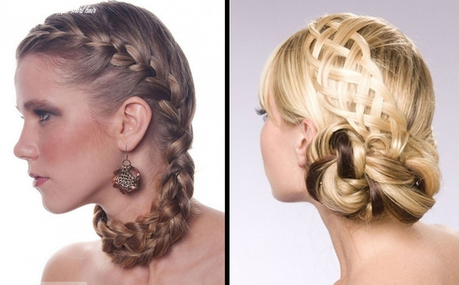 10 fresh homecoming hairstyles for short hair   prom hairstyles