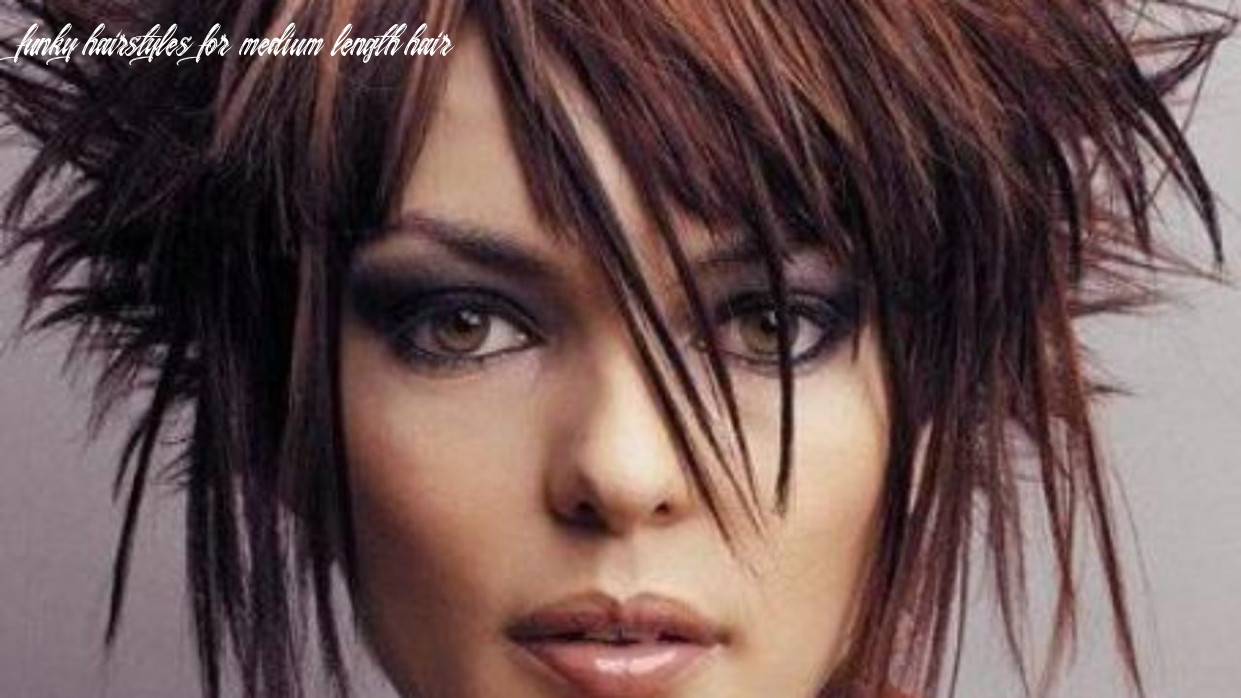10 funky hairstyles for medium length hair funky hairstyles for medium length hair