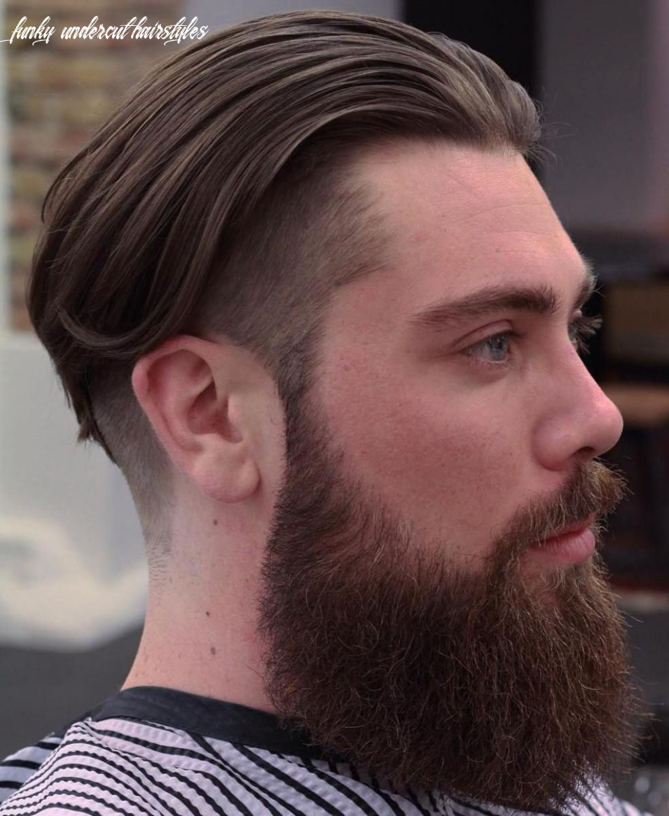 10 Funky Men's Undercut Hairstyles and Haircuts (With images ...