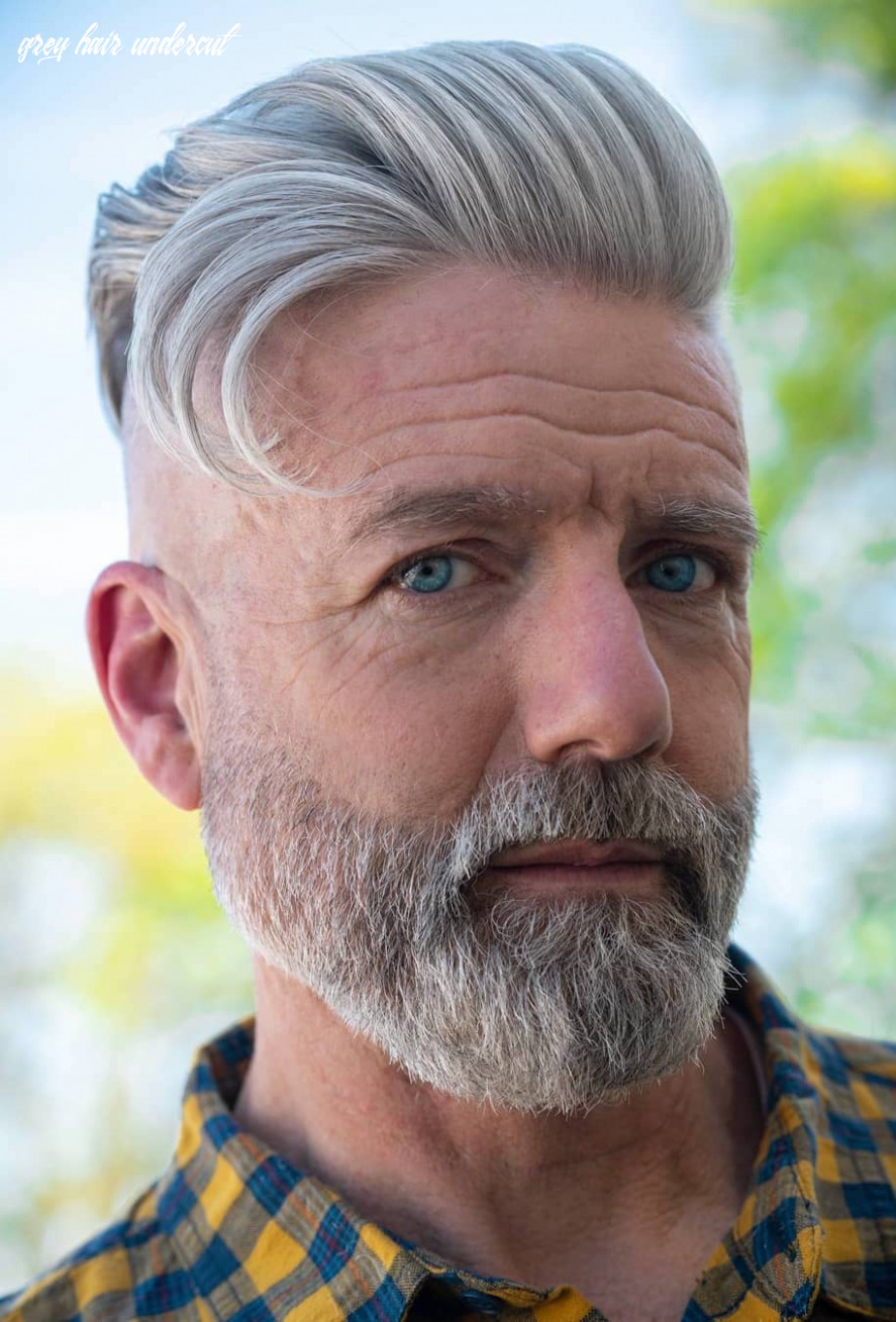 10 glorious hairstyles for men with grey hair (a k a