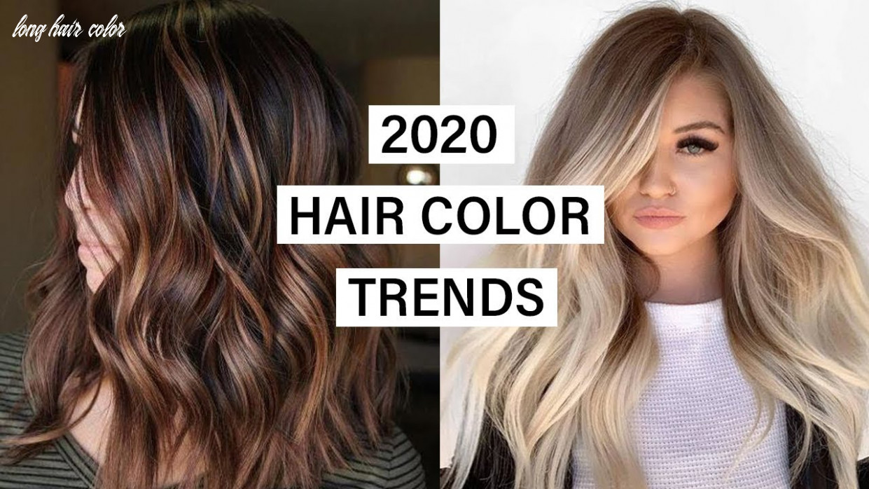 10 hair color trends long hair color