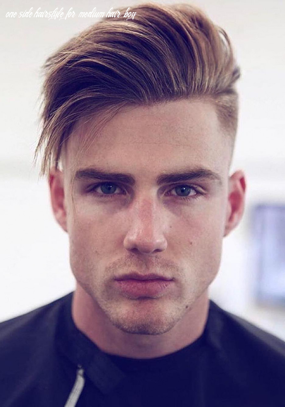10 haircuts for men with thick hair (high volume) one side hairstyle for medium hair boy