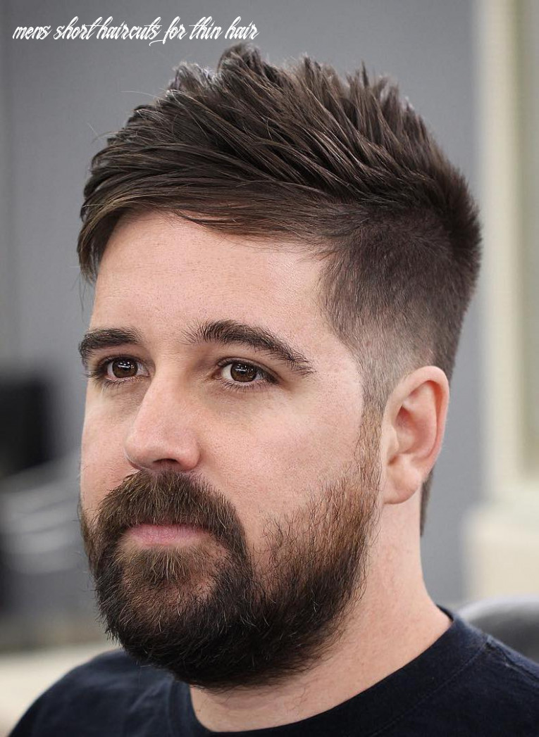 10 hairstyles for men with thin hair (add more volume) mens short haircuts for thin hair