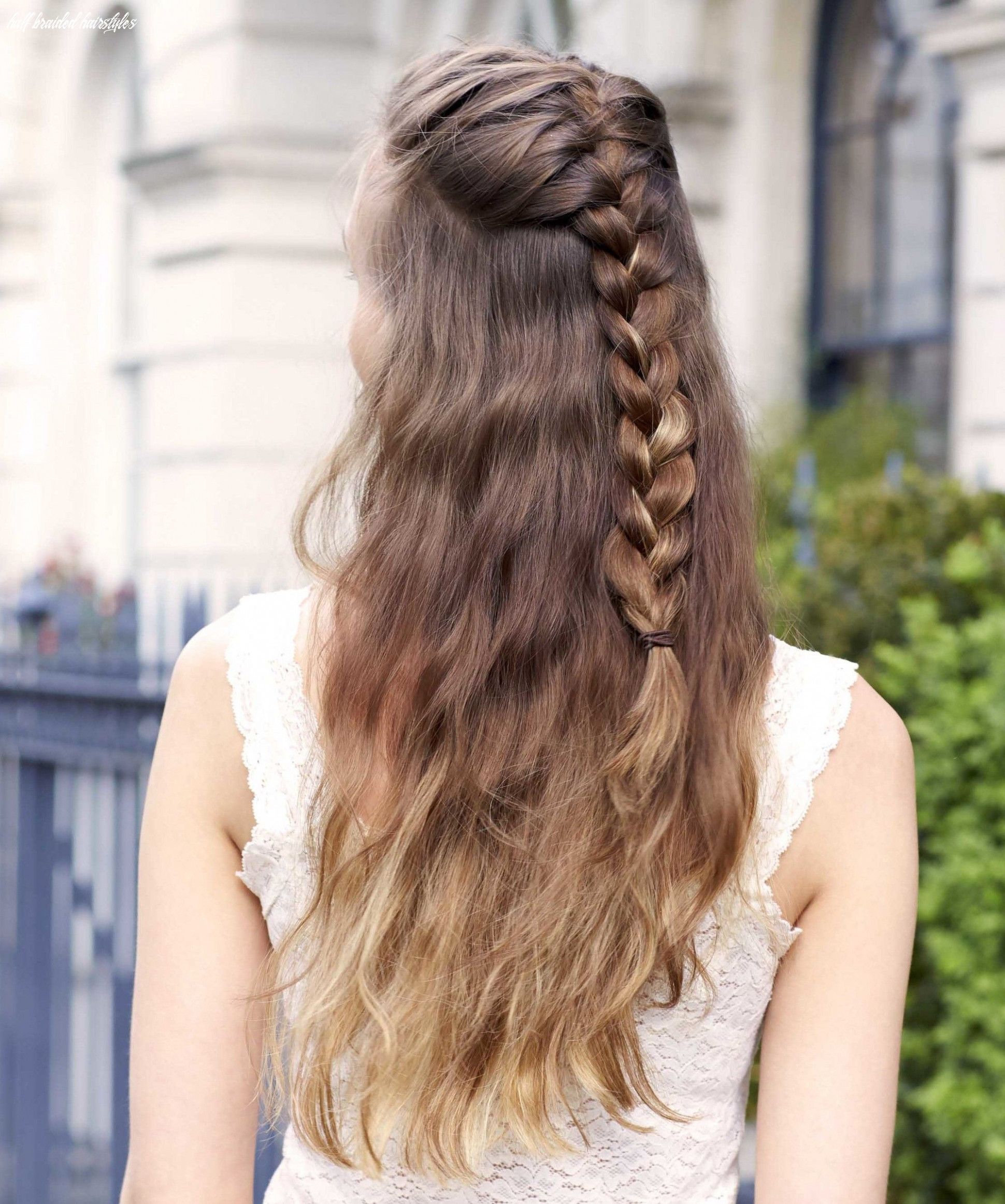 10 half braided hairstyles you can master in minutes half braided hairstyles