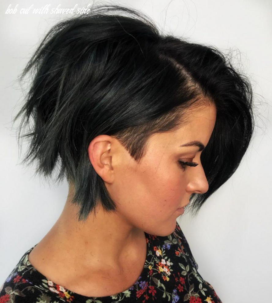 10 hot graduated bob haircuts for women of all ages (10 update) bob cut with shaved side