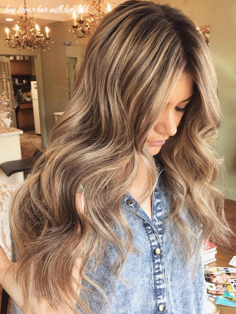 10 ideas for light brown hair with highlights and lowlights