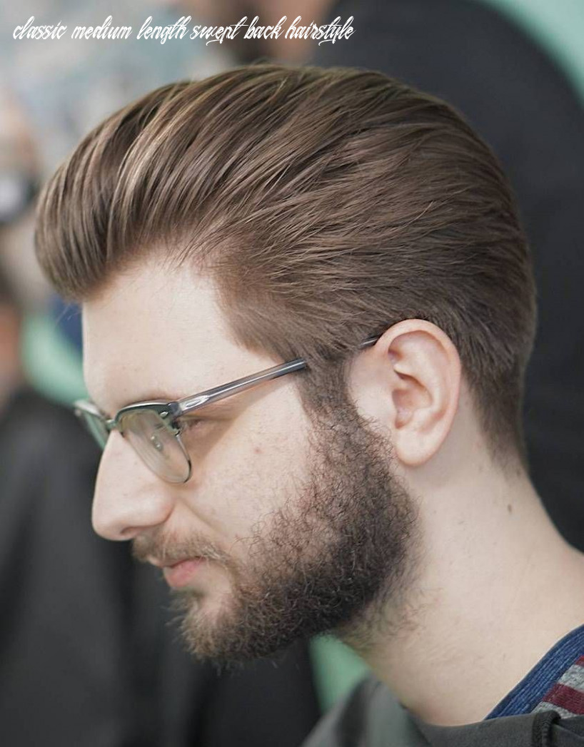 10 Latest Mens Slick Back Hairstyles & Haircut Ideas | Slicked ...