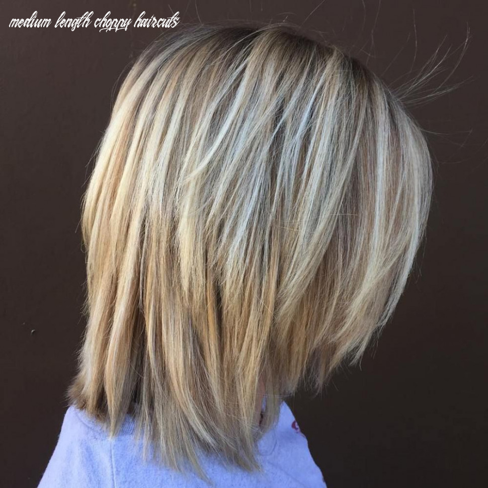10 long choppy bob hairstyles for brunettes and blondes   choppy