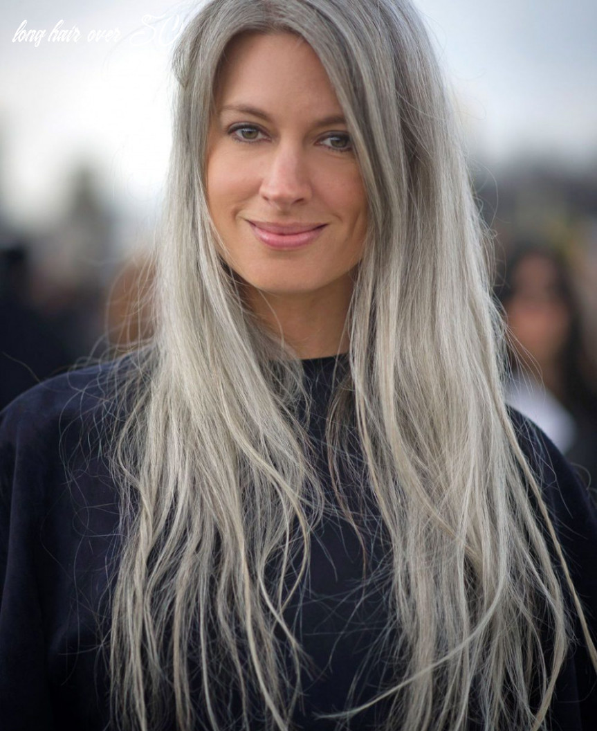 10 Long Hairstyles for Women Over 10 to Look Younger