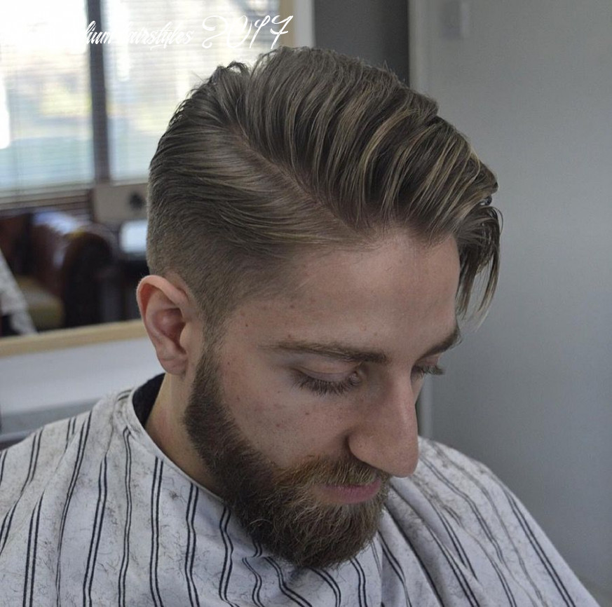10 medium hairstyles for men (cool 10 styles) (with images