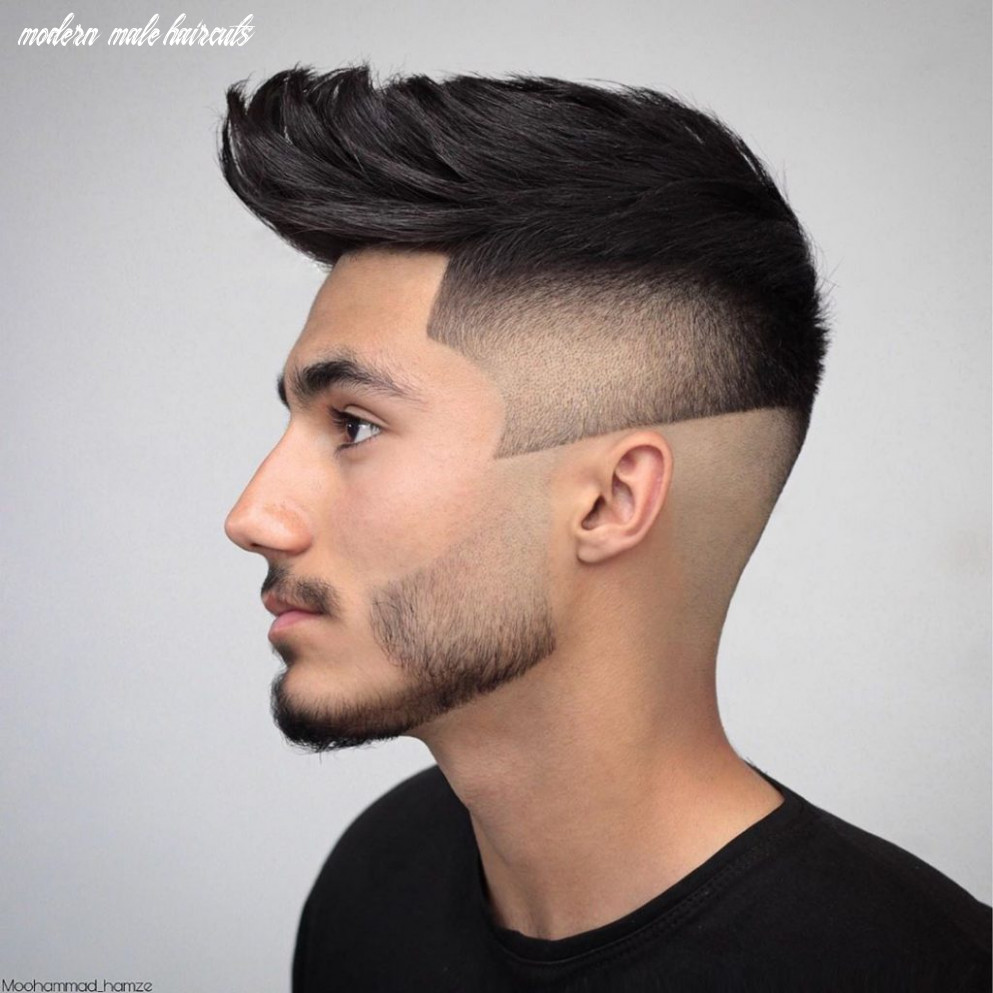 10 modern haircuts for men (latest trends for 1010) modern male haircuts