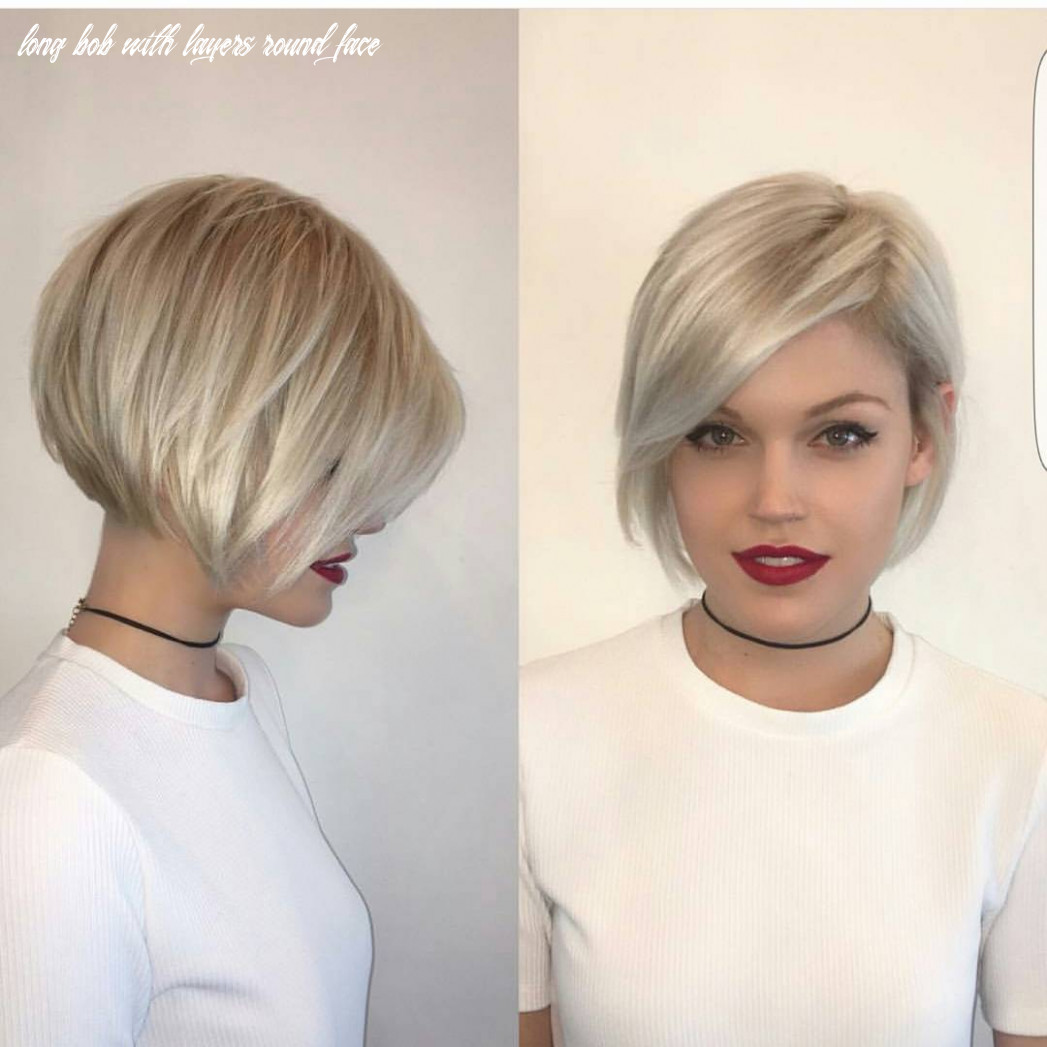 10 Most Flattering Bob Hairstyles for Round Faces 10 ...